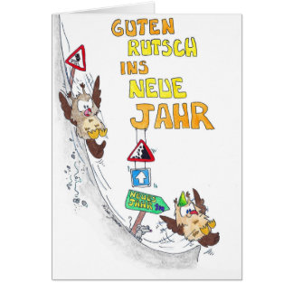 Cartão de GUTEN RUTSCH por Nicole Janes