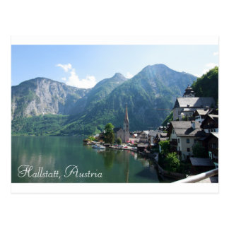 Cartão de Hallstatt, Áustria