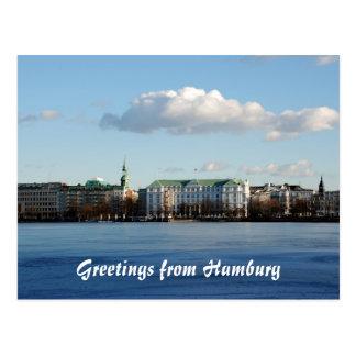Cartão de Hamburgo