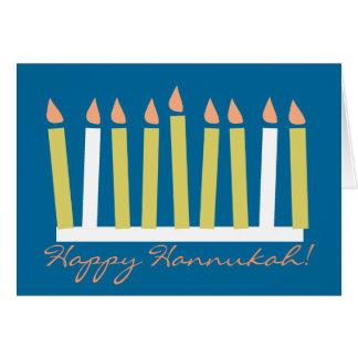 Cartão de Hannukah