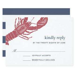 Cartão de Harborside RSVP