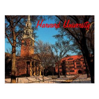 Cartão de Harvard Cartões Postais