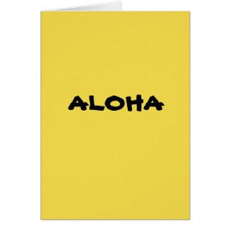 Cartão de Havaí