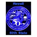 Cartão de Havaí 50th Cartão Postal