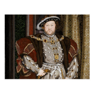 Cartão de Henry VIII