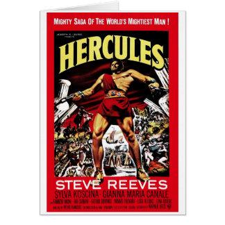 """Cartão de """"Hercules"""" 1958"""