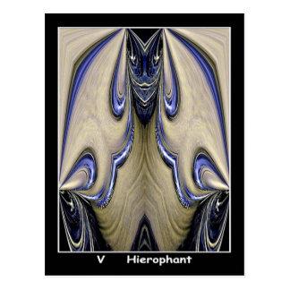 Cartão de Hierophant Tarot