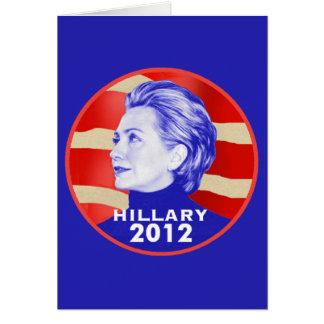 Cartão de Hillary 2012