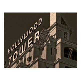Cartão de Hollywood, Califórnia