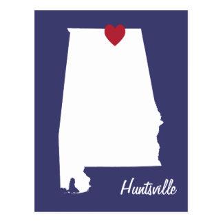 Cartão de Huntsville Alabama