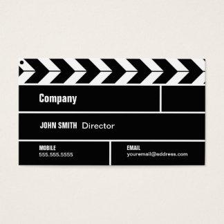 Cartão de indústria cinematográfica do diretor