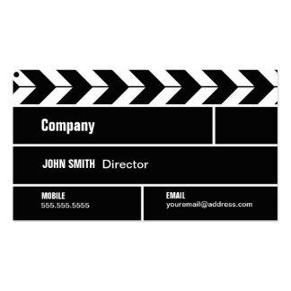 Cartão de indústria cinematográfica do diretor Cla Cartão De Visita