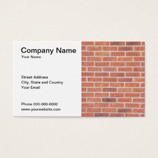 Cartão de indústria da construção