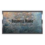Cartão de indústria da construção da parede do gel cartões de visitas