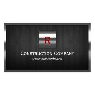 Cartão de indústria da construção de aço & de made cartao de visita