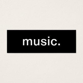 Cartão de indústria musical