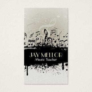 Cartão de indústria musical do Grunge