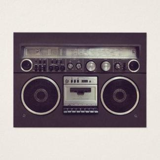 Cartão de indústria musical retro do dinamitador