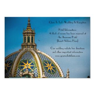 Cartão de informação da abóbada do mosaico de San