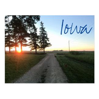 Cartão de Iowa
