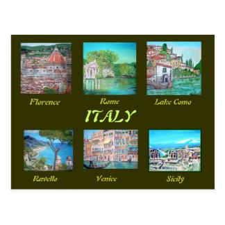 Cartão de Italia