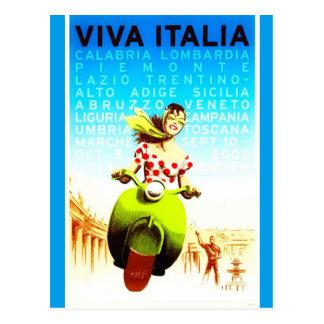 Cartão de Italia do vintage