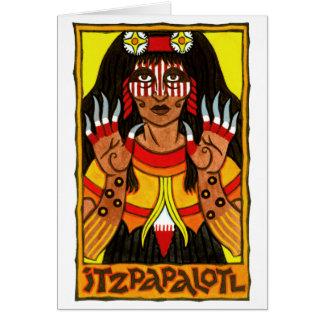 Cartão de Itzpapalotl
