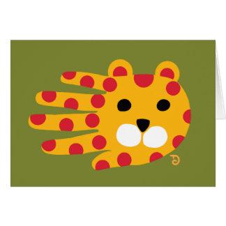 Cartão de Jaguar