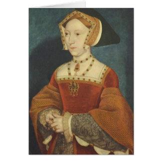 Cartão de Jane Seymour
