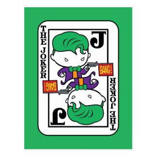 Cartão de jogo do palhaço de Chibi