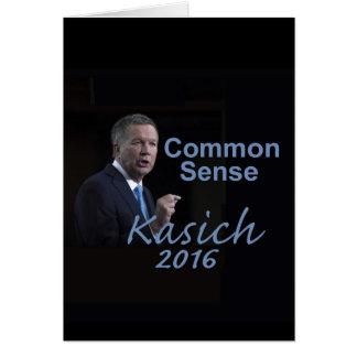 Cartão de John KASICH 2016