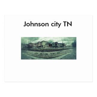 Cartão de Johnson City TN
