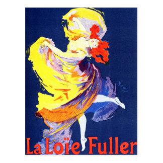 Cartão de Jules Cheret Folies Bergere