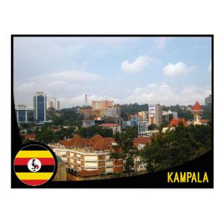 Cartão de Kampala - de Uganda