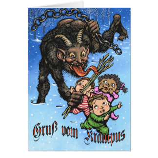 Cartão de Krampus