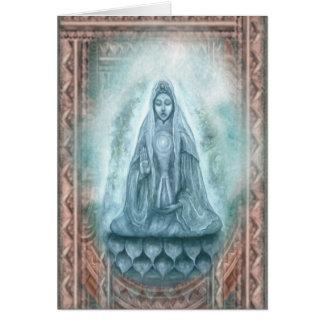 Cartão de Kuan Yin