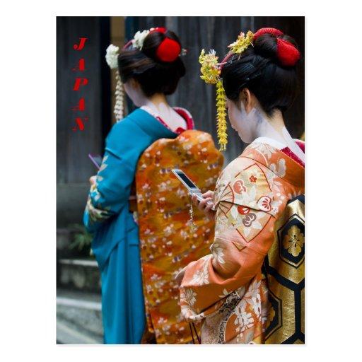 Cartão de Kyoto Cartão Postal