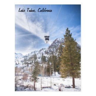 Cartão de Lake Tahoe Cartão Postal