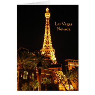 Cartão de Las Vegas