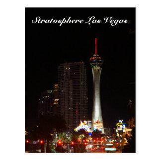 Cartão de Las Vegas da torre da estratosfera