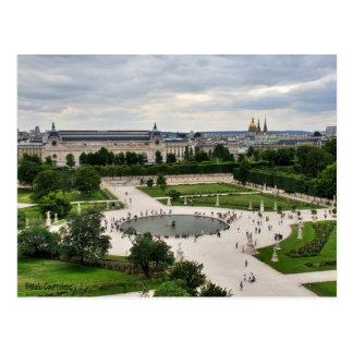 Cartão de Les Tuileries (jardins)