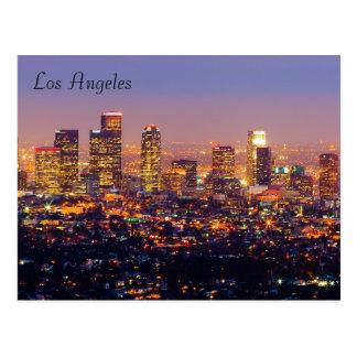 Cartão de Los Angeles