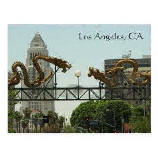 Cartão de Los Angeles!