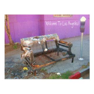 Cartão de Los Angeles do divertimento!