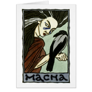 Cartão de Macha
