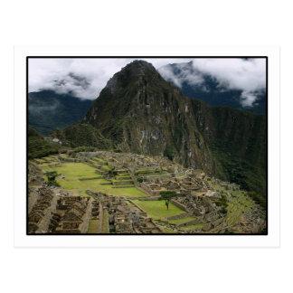 Cartão de Machu Picchu