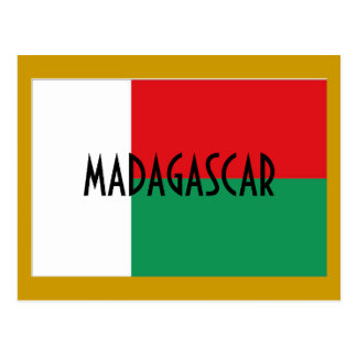 Cartão de Madagascar