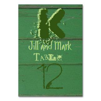 Cartão de madeira da mesa do roteiro do celeiro
