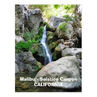 Cartão de Malibu!