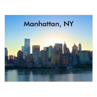Cartão de Manhattan New York